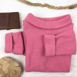 Vintage Fleece Chenille Fuzzy Sweater